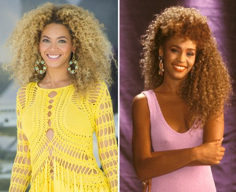 Beyonce and Whitney
