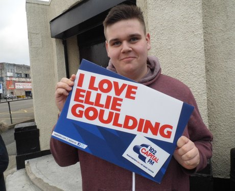 Ellie Goulding Fans at the 02 Apollo