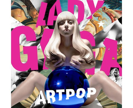 Lady Gaga's 'Artpop' album artwork