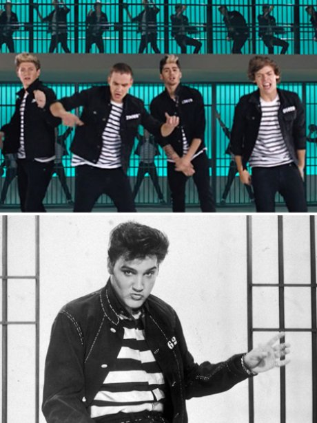 One Direction and Jail House Rock