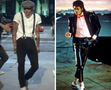 Chris Brown and Michael Jackson