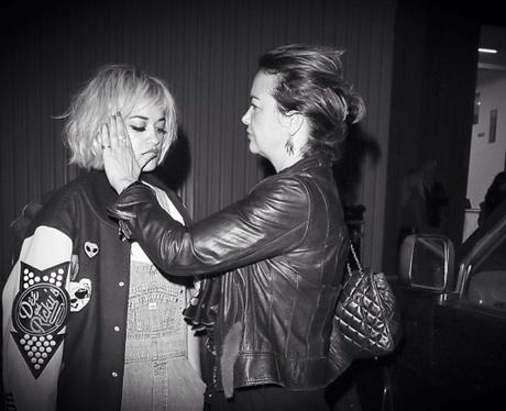 Rita Ora and Mum