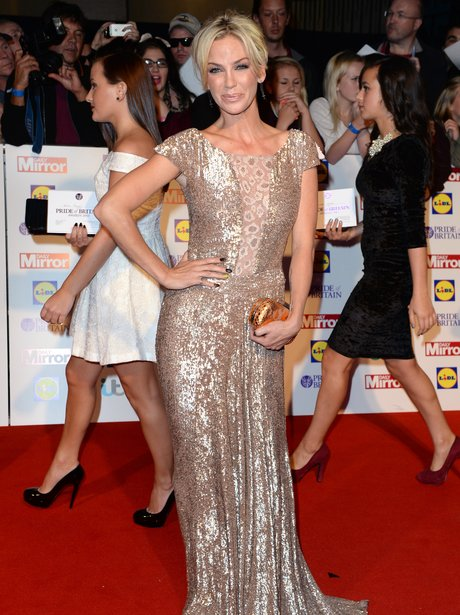 Sarah Harding Pride Of Britain Awards 2013