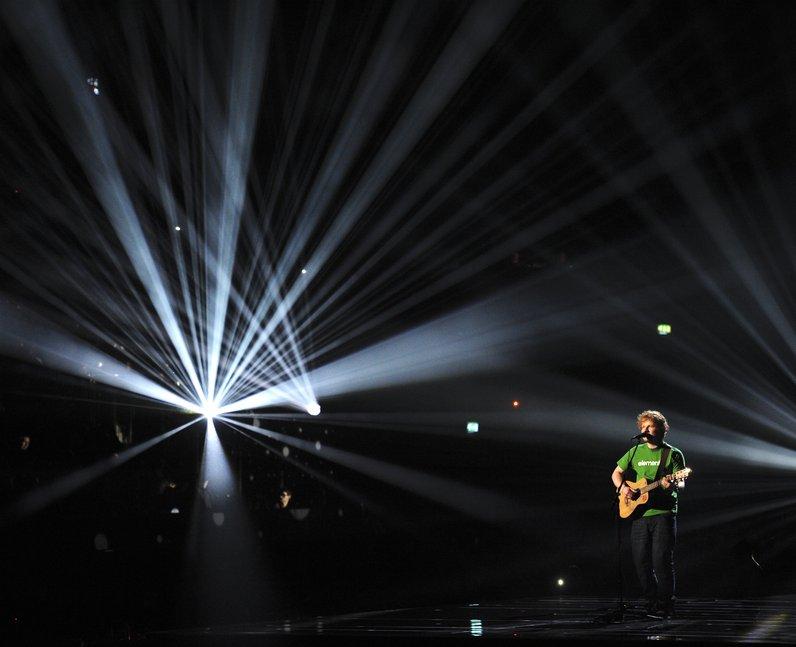 Ed Sheeran BRITS 2012