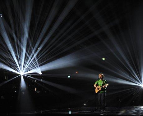 Ed Sheeran at the BRITS 2012