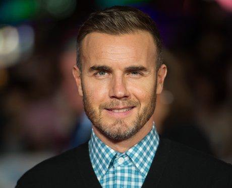 gary barlow on the red carpet