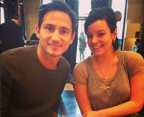 Lily Allen And Frank Lampard