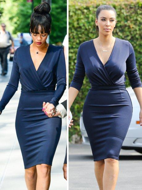 Rihanna and Kim