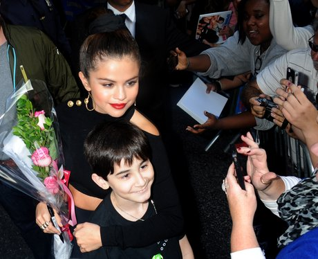Selena Gomez visits 'Late Show with David Letterma