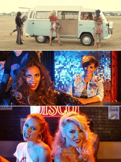 The Saturdays' 'Disco Love' music video