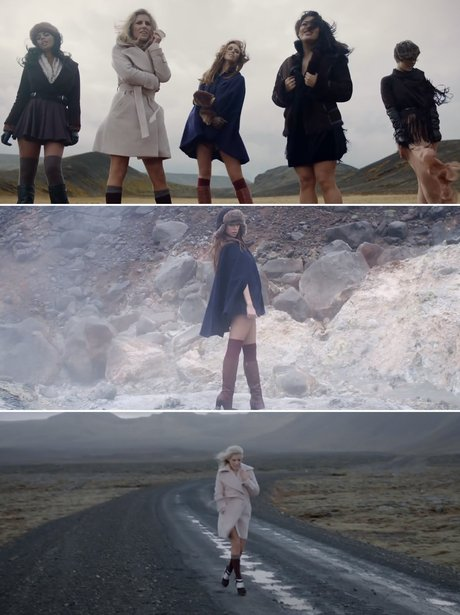 The Saturdays' 'Not Giving Up' music video