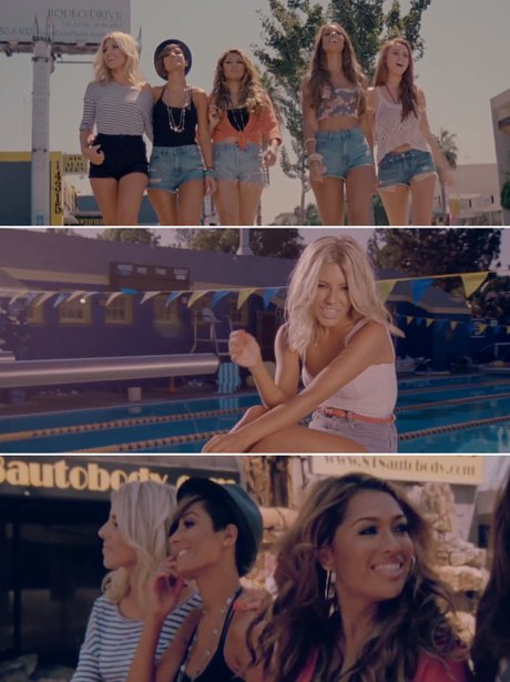 The Saturdays' 'What About Us' music video