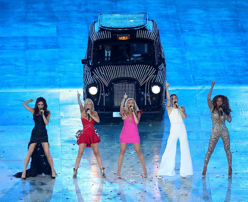 The Spice Girls Olympic Closing Ceremony 2013