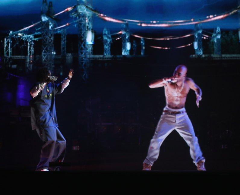 Tupac Coachella With Snoop Doog