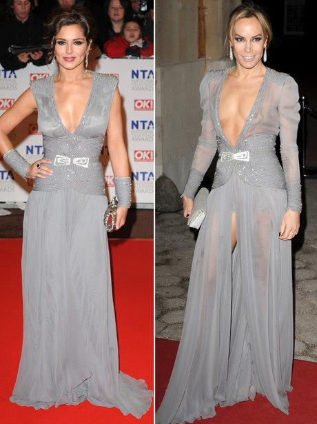 Who Wore It Best: Cheryl Cole and Tara Palmer Tomk