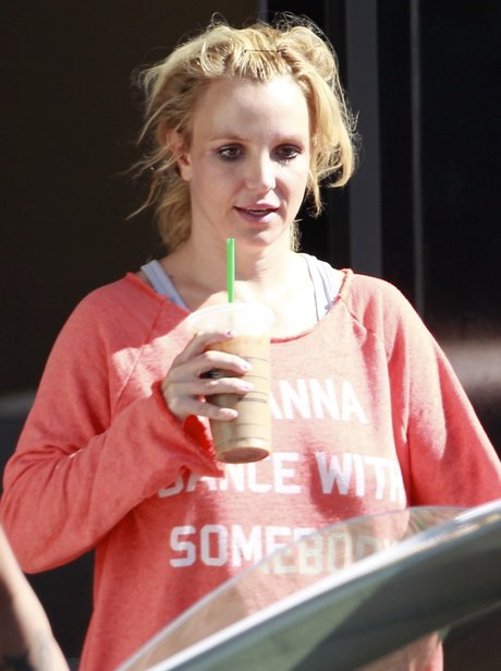 Britney wearing no make-up