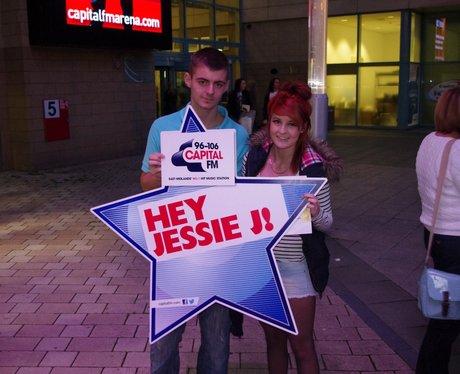 Jessie J At The Capital FM Arena