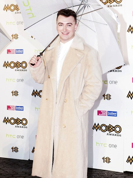 Sam Smith At the Mobo Awards 2013