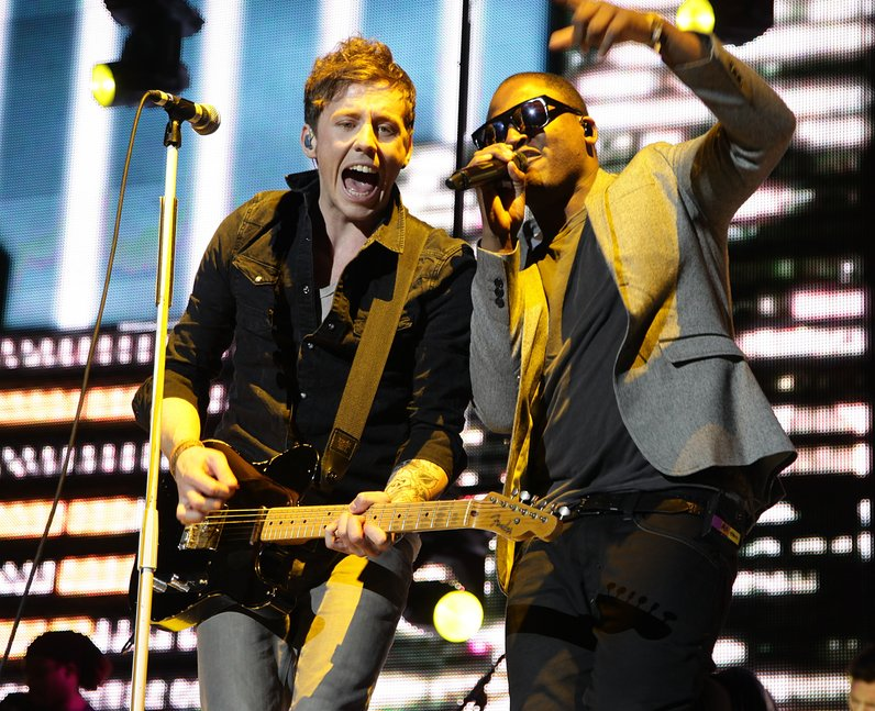 McFly And Taio Cruz Live At The JIngle Bell Ball 2010