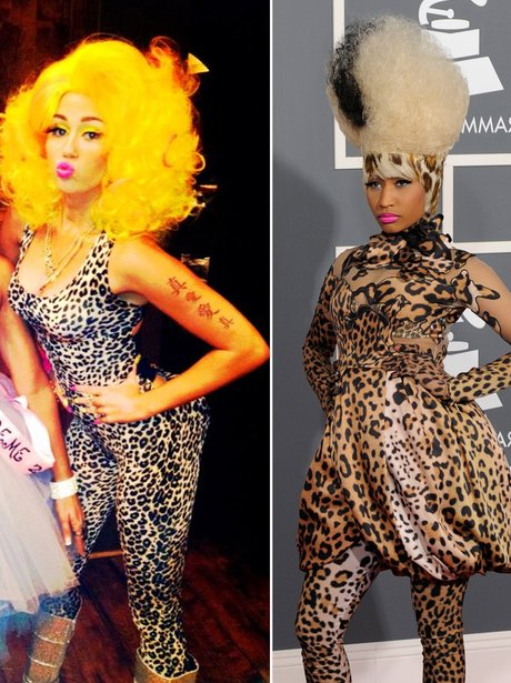 79f95f6f4a15 You Could Always Dress Up As One Of Your Mates Like Miley Cyrus Did When  She Went As Nicki Minaj! Sc 1 St Capital FM