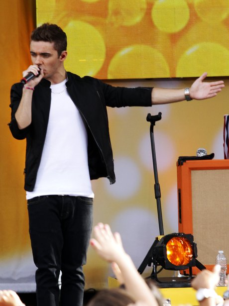 Nathan Sykes plays the Summertime Ball 2013