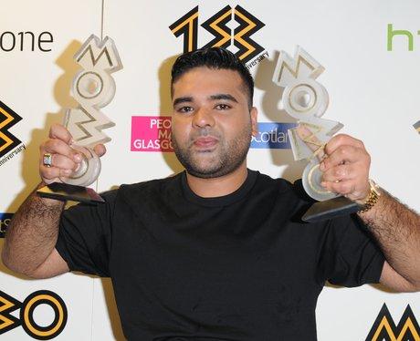 Naughty Boy at the Mobo Awards 2013