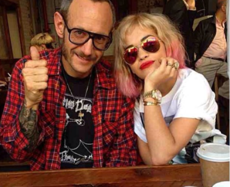 Rita Ora and Terry Rihcardson
