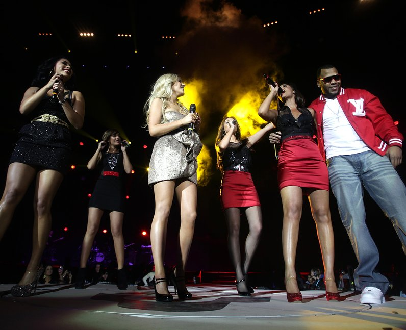 The Saturdays Live At The Jingle Bell Ball 2008