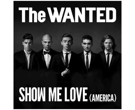 The Wanted's 'Show Me Love' single artwork
