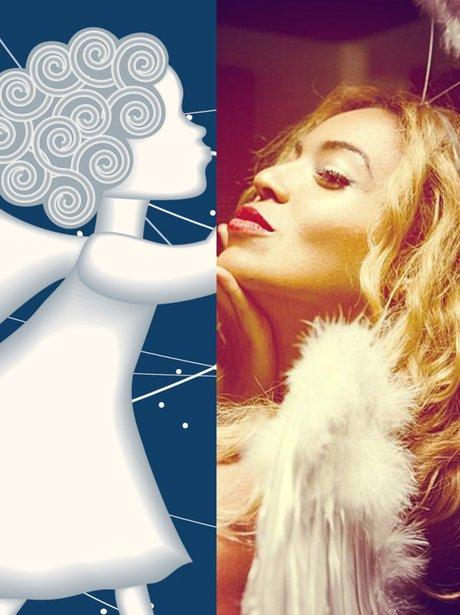 Angel and Beyonce