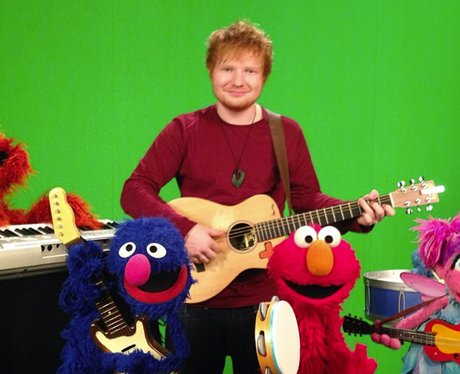 Ed Sheeran appears on Sesame Street