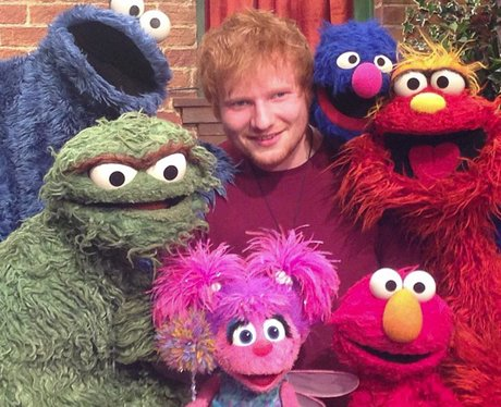 Ed Sheeran on Sesame Street