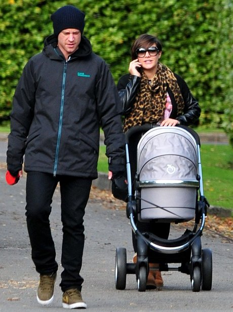 Frankie Sandford with Wayne and baby Parker