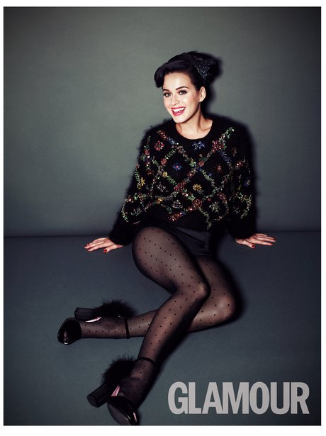 Kate Perry in the new issue of Glamour Magazine
