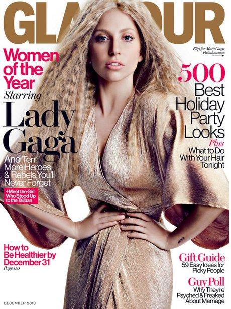 Lady Gaga Glamour Magazine 2013