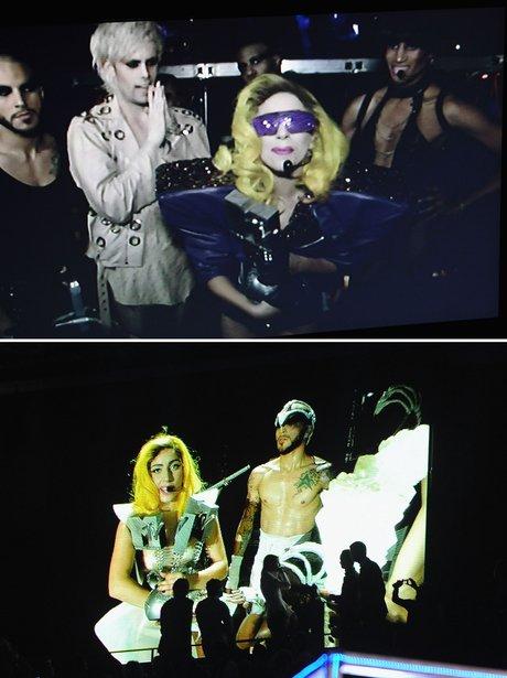 Lady Gaga MTV EMA's Satelite Link