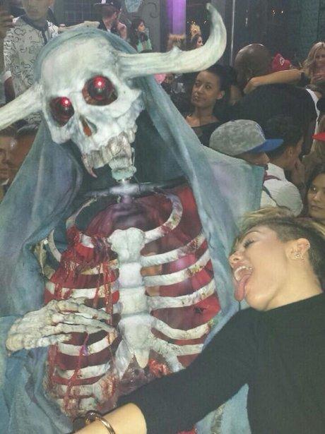 Miley Cyrus halloween week