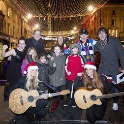 Newcastle Christmas Lights 2012