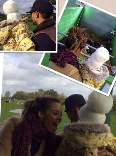 Rochelle Humes family day out on instagram