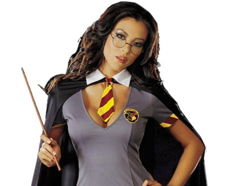 Sexy harry potter outfit