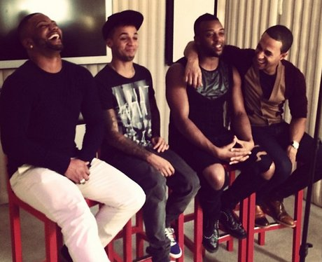JLS share a snap of promotional day out