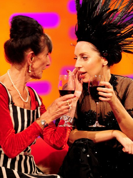 Lady Gaga with June Brown