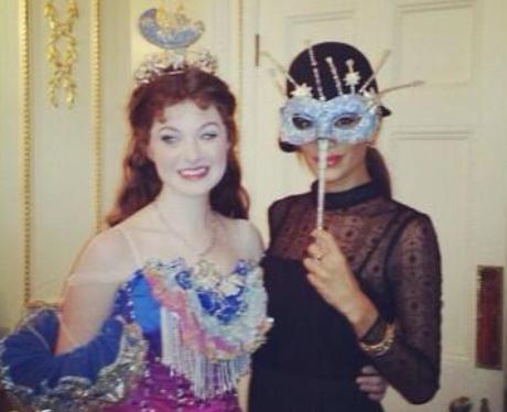 Nicole Scherzinger at the Phantom Of The Opera