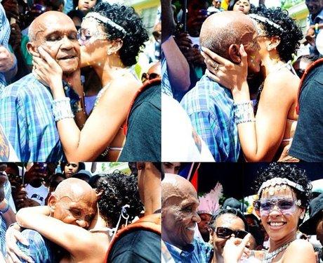 Rihanna wishes her Grandfather a happy birthday