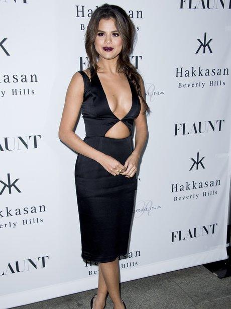 Selena Gomez revealing dress