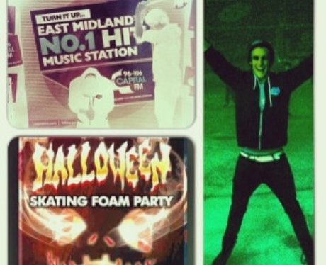 Tom & Claire's Halloween Skate Party