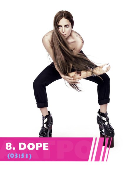 Lady Gaga Dope song lyrics from ARTPOP