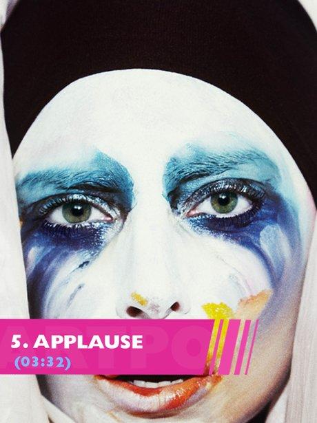 Lady Gaga Applause song lyrics from ARTPOP