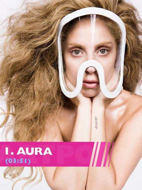 Lady Gaga Aura song lyrics from ARTPOP
