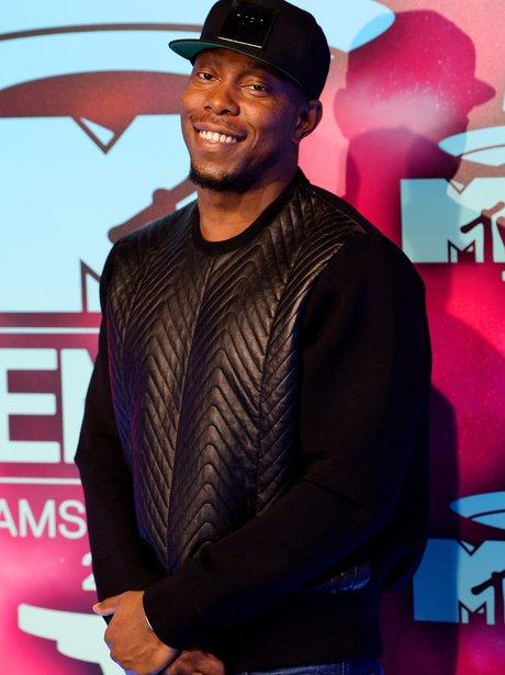 Dizzee Rascal on the MTV EMAs 2013 Red Carpet
